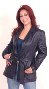 A3 LADIES LEATHER COAT