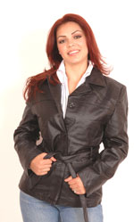 Style A11 Ladies Belted Jacket