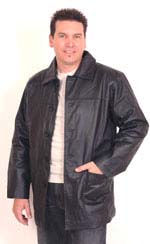 A106 MENS LEATHER  JACKET