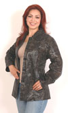 A49 Cobra Embossed Imprint Ladies Hipster Jacket $79.95