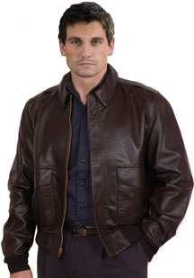 A2 Airforce Lambskin Leather Jacket