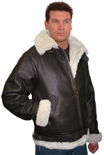 B3 bomber Fur Jacket