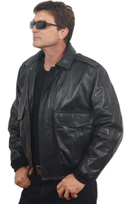 CP1 Lambskin Leather Commercial Pilot Jacket