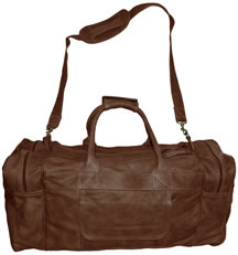 Full Hide Leather Travel Duffle Bag