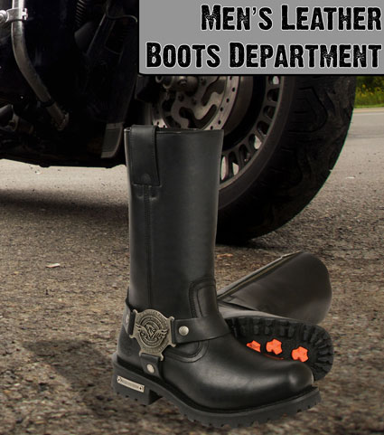 Click Here for the Mens Leather Boots Department