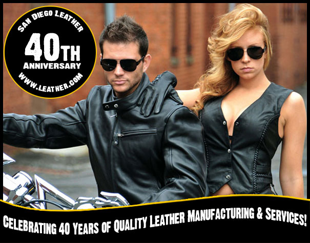 San Diego Leather Jacket Factory Celebrating 40 years of providing people with their leather needs