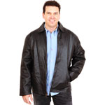 M208 Stadium Jacket with Plain Cuffs