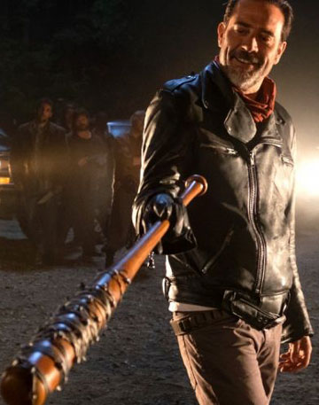 Our Version of the Walking Dead Negan Leather Jacket