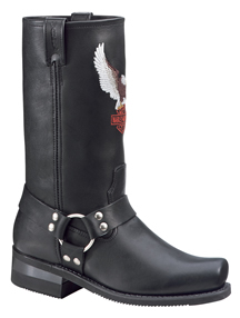 D91002 MENS HARLEY SIDESTREET BOOTS
