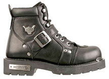 Mens Style D95226 Brake Buckle Steel Toe Harley 