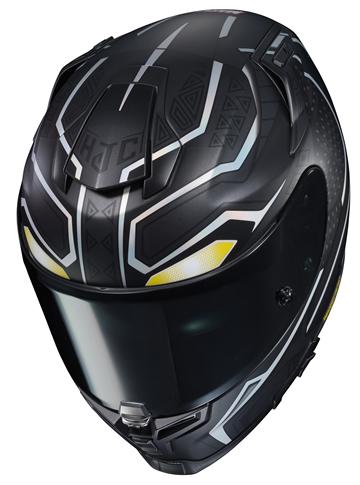 marvel black panther motorcycle rpha 70 st helmet from. Black Bedroom Furniture Sets. Home Design Ideas