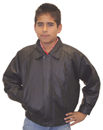 K5 Kids Waist Leather Jacket