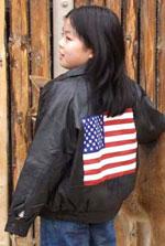 Kids Leather Bomber Jacket - My Jacket