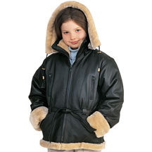 K2810 Kids Imported Bomber