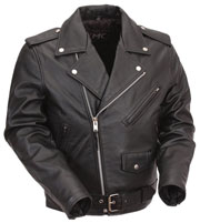 K1FM Kids Biker Leather Jacket