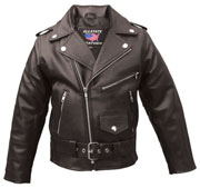 K1FM Kids Biker Jacket available in Junior Sizes