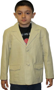 kids bone/beige blazer