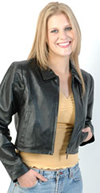 A16 Short Leather Jacket $59.95