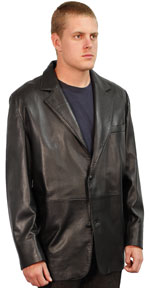221 Mens Italian Lambskin Leather Jacket