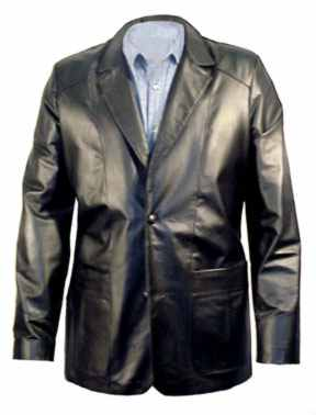 703 Mens Lambskin Leather  Blazer