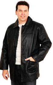 A100 MENS LEATHER   JACKET