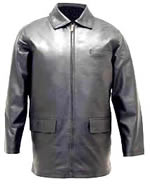 A104 Mens Stadium  Leather Jacket
