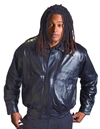 A22006 Mens Leather Waist Jacket $79.95