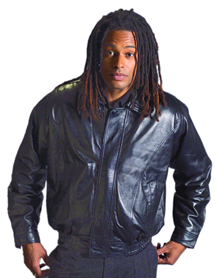 Style A22006  Mens  Lamb Waist Jacket  -- San Diego Leather Jacket