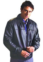M208 MENS LEATHER   JACKET