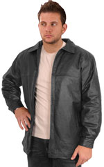 Mens Leather Stadium Jackets