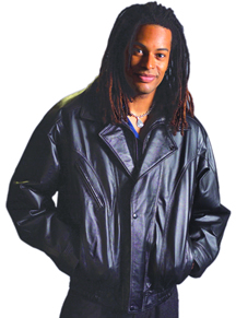 Style A22046 Mens  Leather  Jacket  -- San Diego Leather Jacket
