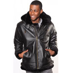 A3109 Fur Bomber Jacket