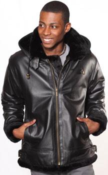 order Beige Fur or Black Fur from leather.com