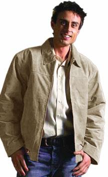Style S23712 Mens Lamb Waist Jacket -- San Diego Leather Jacket