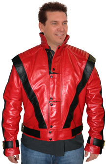 Our Version of the Thriller Theme leather jacket