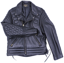 102X Padded Leather Jacket