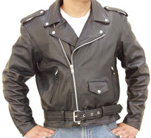 Our C100 Classic Leather Model like the Grease Jacket