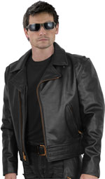Police A Leather Jacket