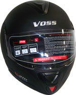 Check out our new Modular Voss DOT Approved Helmet with Liftable Face Jaw