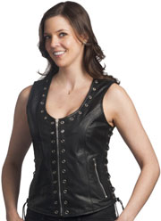 Click here for the LV2682 Ladies Vest with Eyeleds