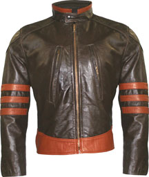Our Version of the Woverine movie Theme leather jacket