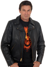 Click here for the 102X Crossover Collar Leather Jacket