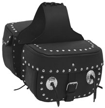 Saddle Bag 1 With Studs & Conchos