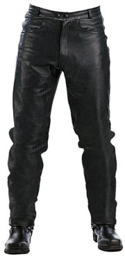 P100 Cowhide Leather Motorcycle Jeans Imported
