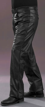 P115 Mens Leather Pants