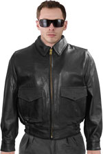 G1 LCB Police Leather Jacket